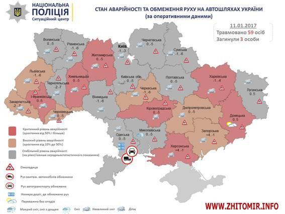 PM903image002 - Серед інших регіонів України Житомирська область й надалі залишається у списку з критичним рівнем аварійності на дорогах