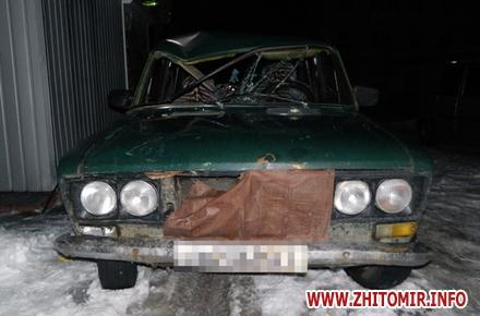 2017 01 16vaz mash 1 w440 h290 - У райцентрі Житомирської області загинув велосипедист, якого збили два автомобілі