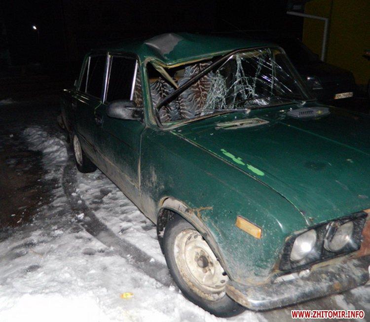vaz mash 2 - У райцентрі Житомирської області загинув велосипедист, якого збили два автомобілі