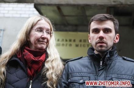 2017 01 20sypryn zhitomir 21 w440 h290 - У Житомирі чиновники показували Уляні Супрун та її заступнику амбулаторію і поліклініку. Фоторепортаж