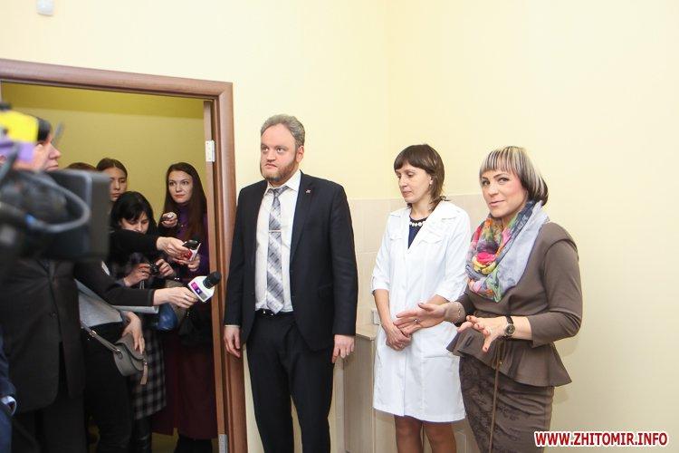 sypryn zhitomir 05 - У Житомирі чиновники показували Уляні Супрун та її заступнику амбулаторію і поліклініку. Фоторепортаж