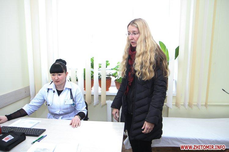 sypryn zhitomir 23 - У Житомирі чиновники показували Уляні Супрун та її заступнику амбулаторію і поліклініку. Фоторепортаж