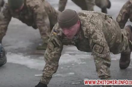 2017 01 22zabkodskij gel w440 h290 - На плацу в Житомирі генерал-лейтенант Забродський та командування ВДВ підтримали естафету «22pushupchallenge»