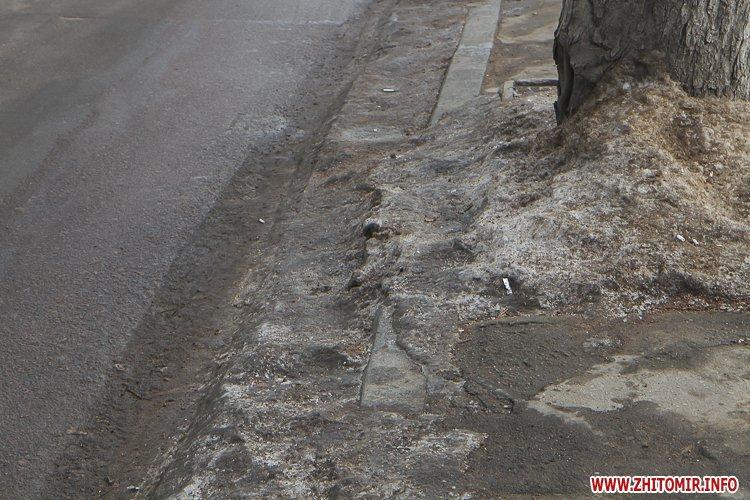 m Ruda 3 - Слизькі та неприбрані зупинки громадського транспорту в Житомирі. Фоторепортаж