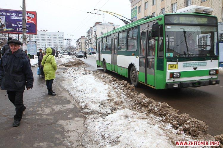 mol moda 04 - Слизькі та неприбрані зупинки громадського транспорту в Житомирі. Фоторепортаж