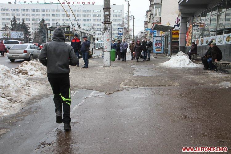 mol moda 09 - Слизькі та неприбрані зупинки громадського транспорту в Житомирі. Фоторепортаж