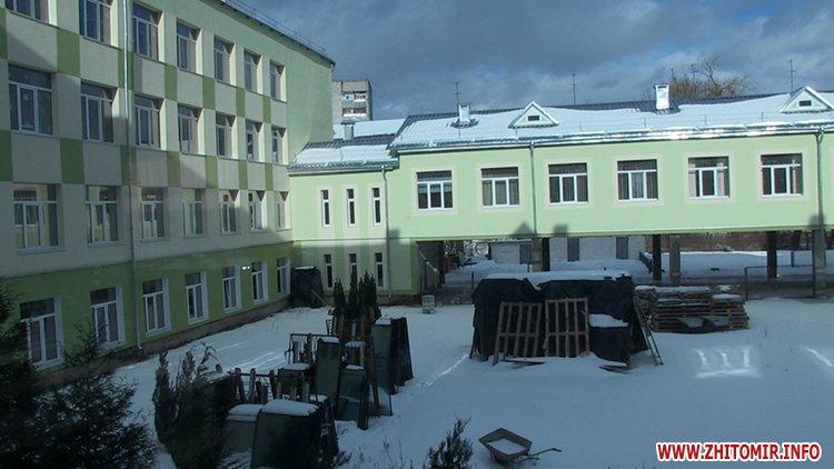 20170125 school36 06 - Житомирська мерія проінспектувала шкільну актову залу, харчоблок і спортзал, на ремонт яких витратили понад 3 млн грн