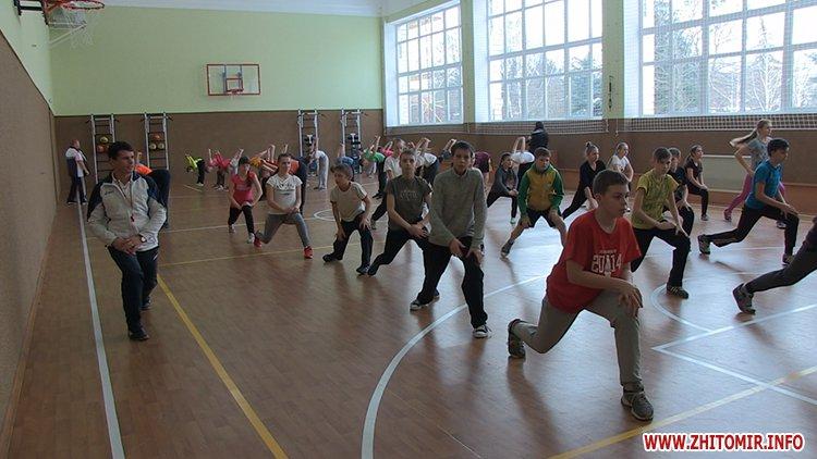 20170125 school36 07 - Житомирська мерія проінспектувала шкільну актову залу, харчоблок і спортзал, на ремонт яких витратили понад 3 млн грн