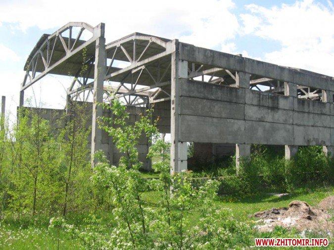 1403.1.b - Фонд держмайна за мільйон хоче продати недобудований цегельний завод у Бердичівському районі