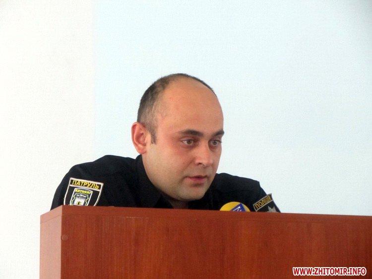 mkPolic 2 - За рік зафіксовано 9 нападів на житомирських патрульних, - Гуменюк