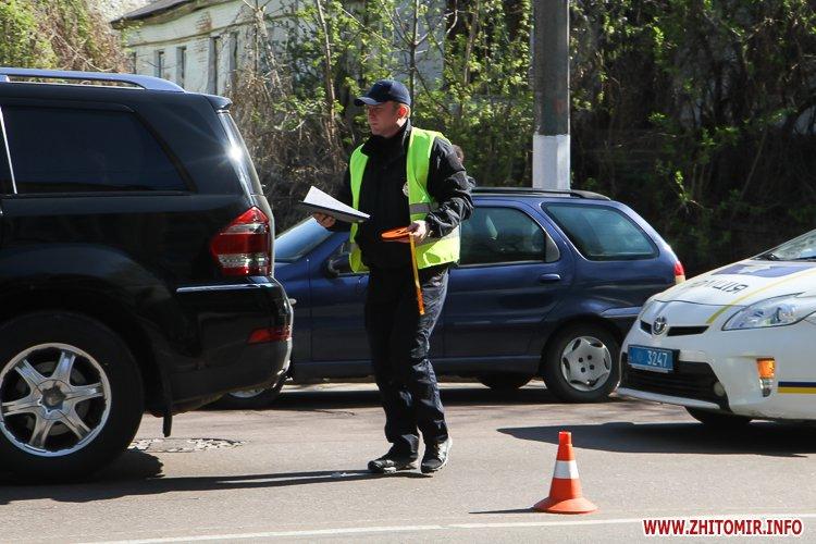 DTP boleyko 04 - На Великій Бердичівській у Житомирі не розминулися дві автівки