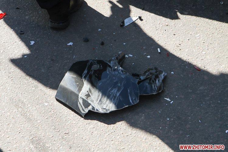 DTP boleyko 05 - На Великій Бердичівській у Житомирі не розминулися дві автівки
