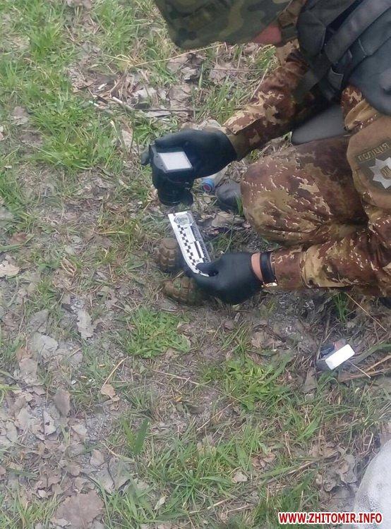 znaideni granaty 3 - Під час прибирання траси Київ-Чоп у Житомирській області знайшли дві гранати