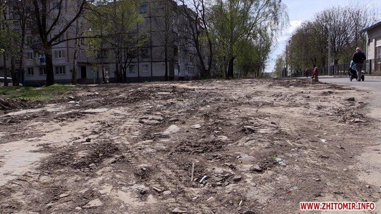 AnTipov pol 5 - Радник мера Житомира перевірив, як прибрали Польову від будівельного сміття, і пообіцяв повернутися ще