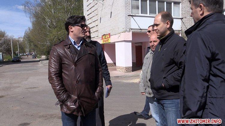 AnTipov pol 9 - Радник мера Житомира перевірив, як прибрали Польову від будівельного сміття, і пообіцяв повернутися ще