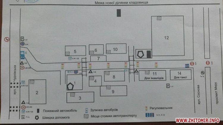 perekrittya ryx - Житомирські патрульні розповіли про перекриття дорожнього руху в поминальні дні