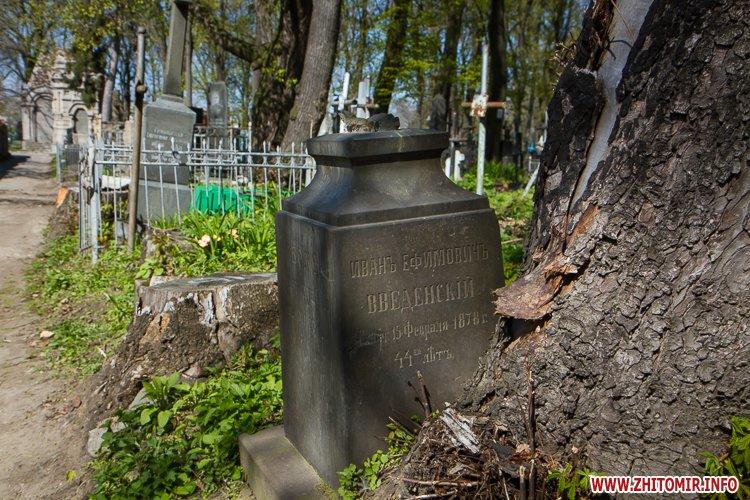 rys kladbize 05 - Руське кладовище у Житомирі перед поминальними днями. Фоторепортаж