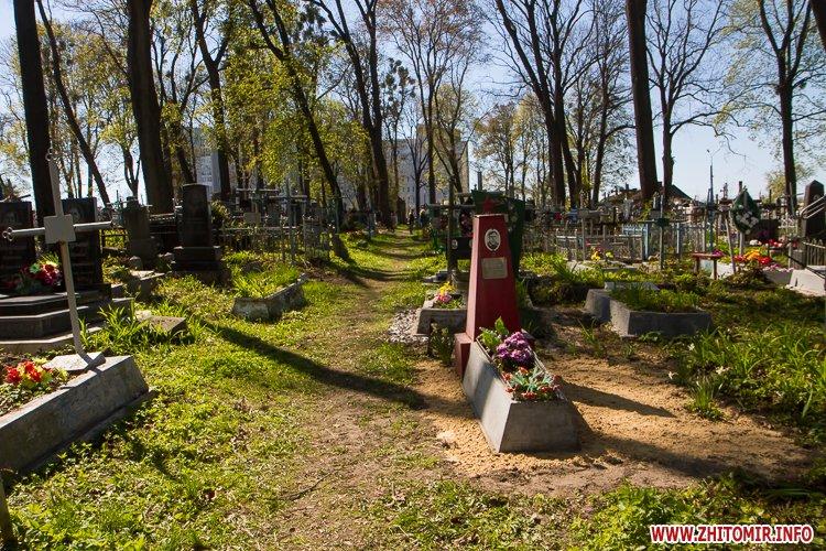 rys kladbize 28 - Руське кладовище у Житомирі перед поминальними днями. Фоторепортаж