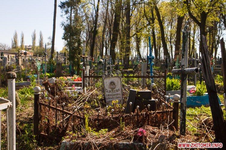 rys kladbize 34 - Руське кладовище у Житомирі перед поминальними днями. Фоторепортаж