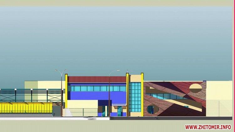 Stadion polissya 08 - Як виглядатиме житомирський стадіон «Спартак» після реконструкції, яку планують провести в два етапи