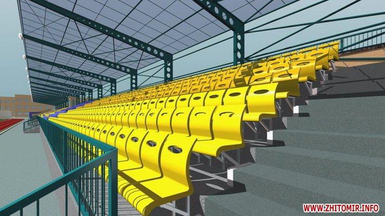 Stadion polissya 09 - Як виглядатиме житомирський стадіон «Спартак» після реконструкції, яку планують провести в два етапи