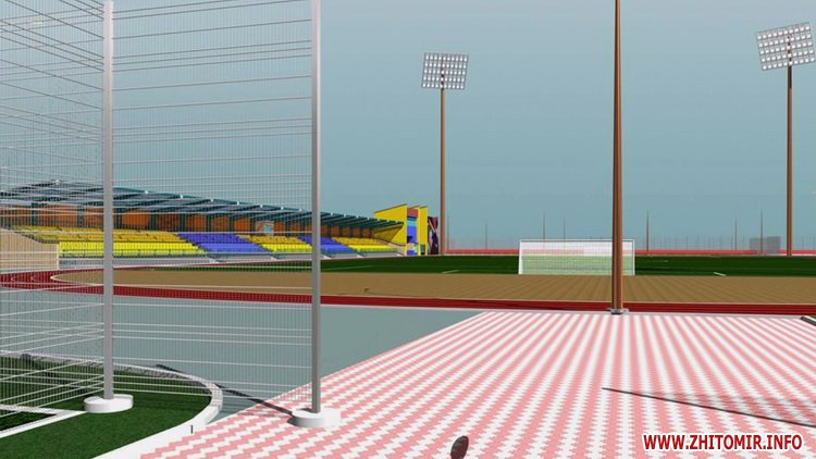 Stadion polissya 12 - Як виглядатиме житомирський стадіон «Спартак» після реконструкції, яку планують провести в два етапи