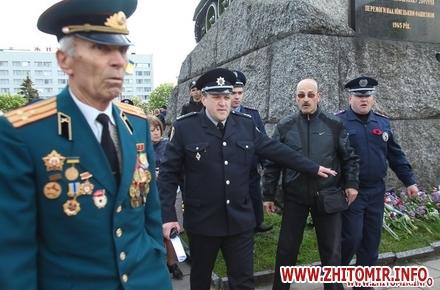2017 05 109maj tank 41 w440 h290 - Печененко про 9 травня в Житомирі: Ми разом не допустили провокацій та забезпечили спокій і безпеку