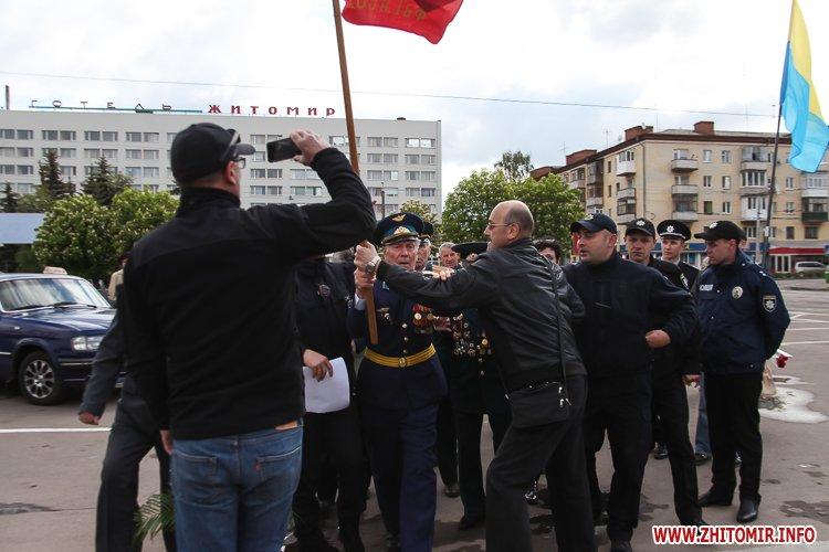 9maj tank 35 - Печененко про 9 травня в Житомирі: Ми разом не допустили провокацій та забезпечили спокій і безпеку