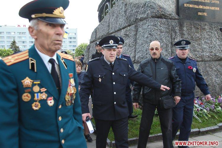 9maj tank 41 - Печененко про 9 травня в Житомирі: Ми разом не допустили провокацій та забезпечили спокій і безпеку