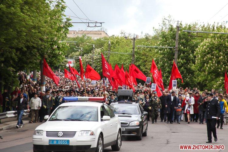 9naj17 monyment 10 - Печененко про 9 травня в Житомирі: Ми разом не допустили провокацій та забезпечили спокій і безпеку