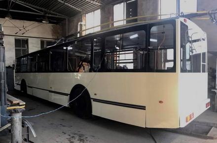 2017 05 1520170515 troleibus1 w440 h290 - У Житомирі планують запустити тролейбус, який ТТУ зробило за майже мільйон гривень