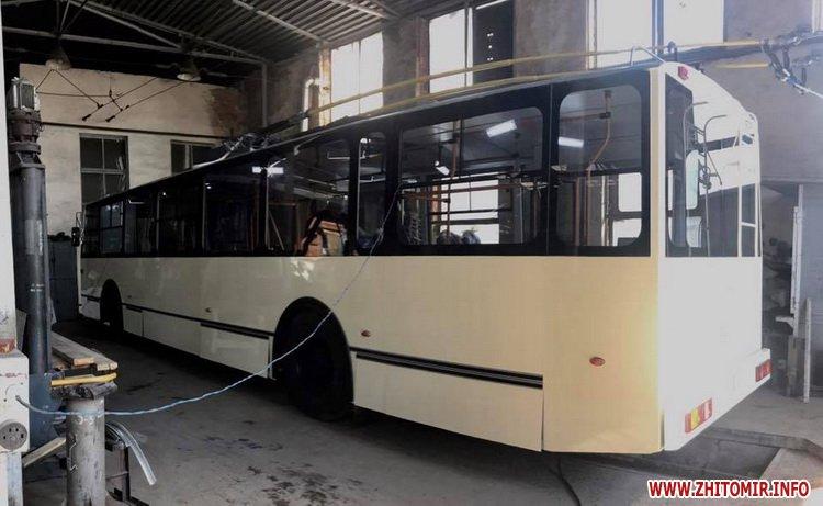 20170515 troleibus1 - У Житомирі планують запустити тролейбус, який ТТУ зробило за майже мільйон гривень