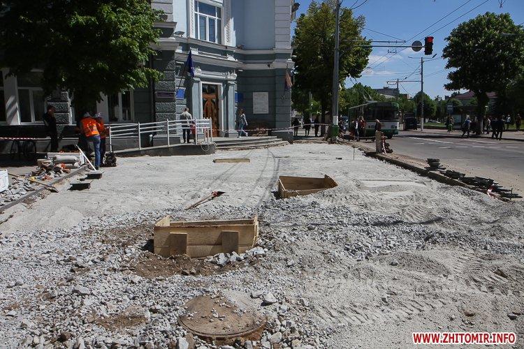 20170515 myhaylivska remont 04 - Житомирську Михайлівську ремонтують одночасно з двох кінців. Фоторепортаж