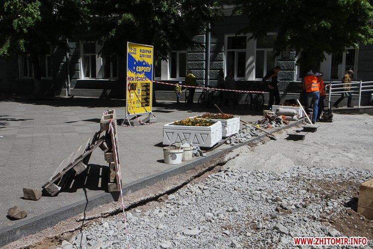 20170515 myhaylivska remont 05 - Житомирську Михайлівську ремонтують одночасно з двох кінців. Фоторепортаж