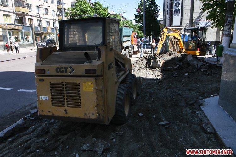20170515 myhaylivska remont 17 - Житомирську Михайлівську ремонтують одночасно з двох кінців. Фоторепортаж