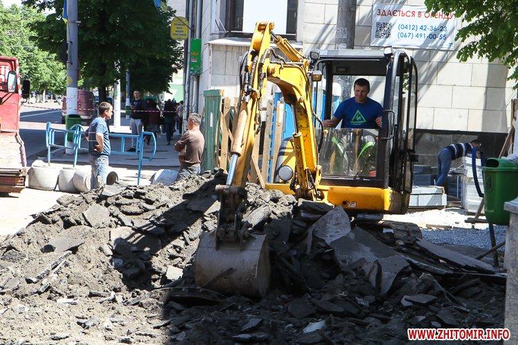 20170515 myhaylivska remont 18 - Житомирську Михайлівську ремонтують одночасно з двох кінців. Фоторепортаж