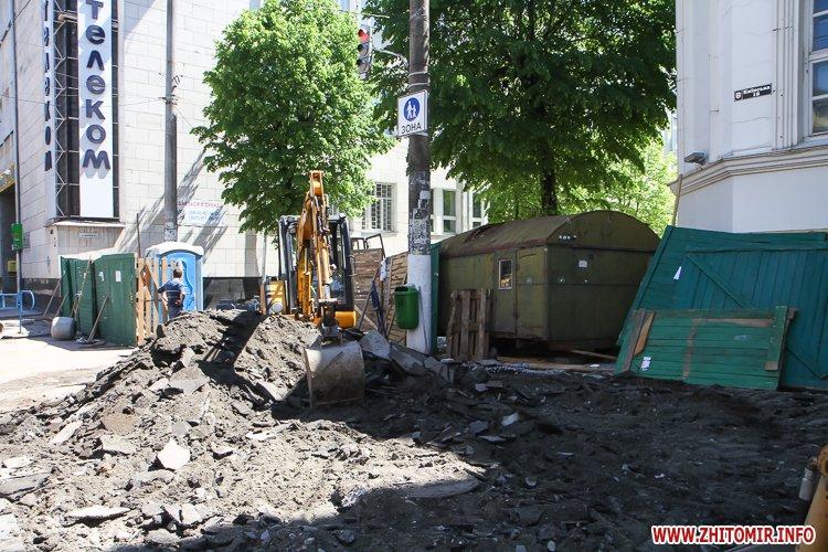 20170515 myhaylivska remont 19 - Житомирську Михайлівську ремонтують одночасно з двох кінців. Фоторепортаж
