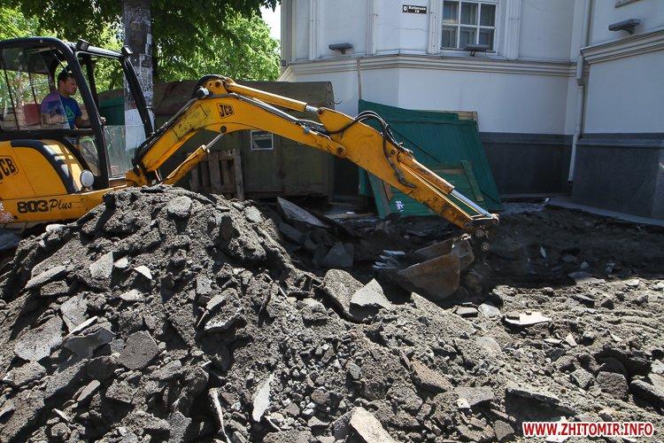 20170515 myhaylivska remont 20 - Житомирську Михайлівську ремонтують одночасно з двох кінців. Фоторепортаж