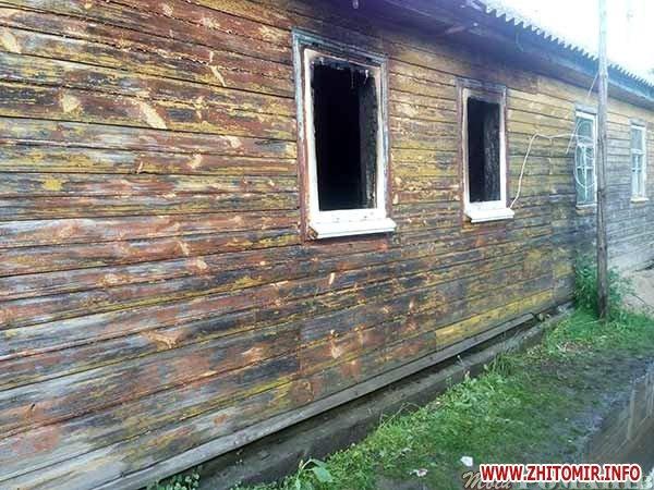 bcasIZ 4 - У селі Житомирської області вигорів будинок – без даху над головою залишилися жінка з дітьми