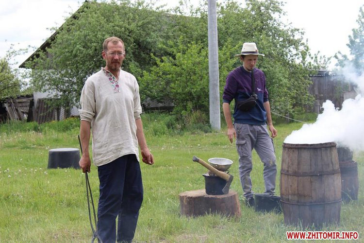 oceZ 23 - На Бабиній горі в Олевську відтворили прадавні обряди древлян: варили мед та водили хороводи