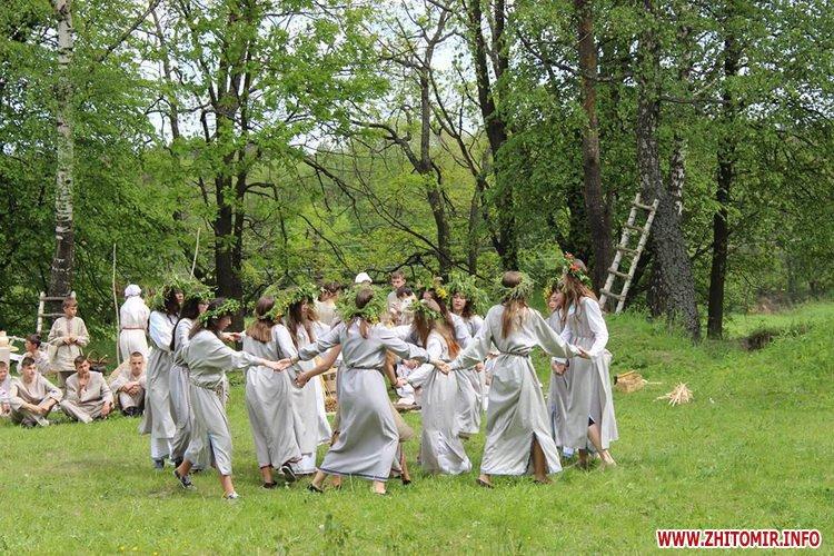 oceZ 33 - На Бабиній горі в Олевську відтворили прадавні обряди древлян: варили мед та водили хороводи