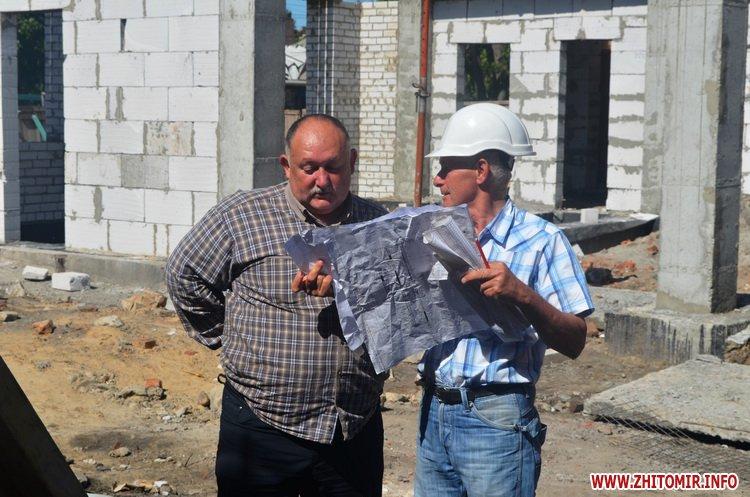 BYDivn 2 - Мер Житомира подивився, якими темпами рухається будівництво гімназії №3 та дитсадка на Крошні