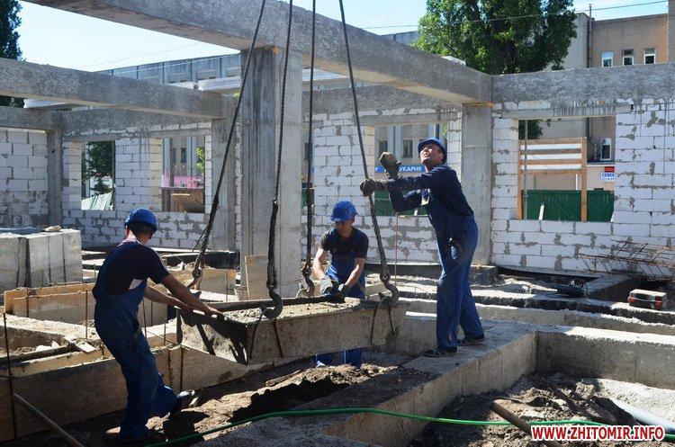 BYDivn 4 - Мер Житомира подивився, якими темпами рухається будівництво гімназії №3 та дитсадка на Крошні