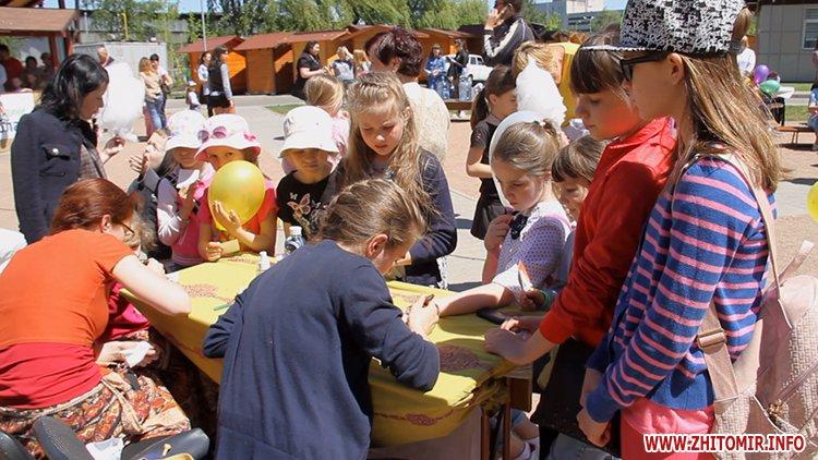 Rozenb fiksiki 06 - Свято для дітей від «Фонду родини Розенблат» у Житомирі: атракціони, повітряні кульки та казкові герої