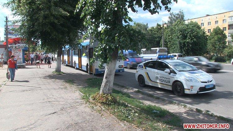 trol sbil 3 - На Богунії у Житомирі тролейбус переїхав жінці ноги