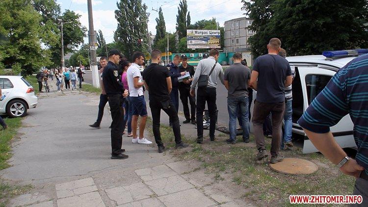 zbroaj vokzal 2 - Біля вокзалу в Житомирі поліція затримала чоловіка і вилучила зброю