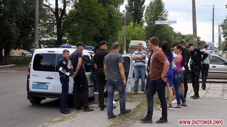 zbroaj vokzal 4 - Біля вокзалу в Житомирі поліція затримала чоловіка і вилучила зброю