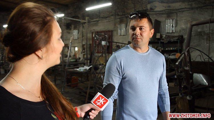 Pidkova zhitomir 02 - Житомирські ковалі хочуть подарувати місту залізну підкову вагою 250 кг