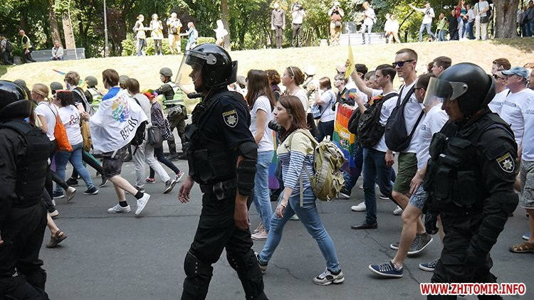 kievprajd zt 13 - Учасниця київського «Маршу рівності» розповіла, чи є Житомир гомофобним