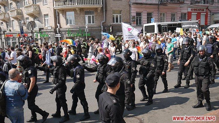 kievprajd zt 14 - Учасниця київського «Маршу рівності» розповіла, чи є Житомир гомофобним